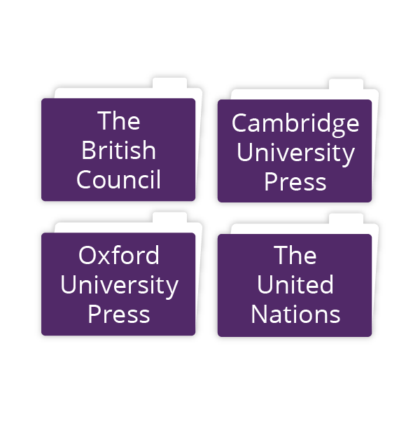 Project partners, British councils, United Nations
